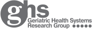 Geriatric Health Systems Research Group logo